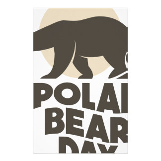 27th February - Polar Bear Day Stationery