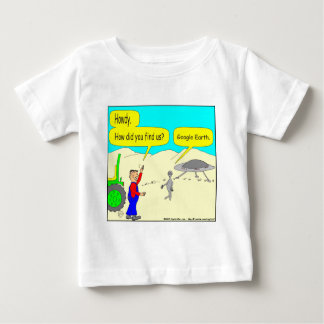 280 Google Earth Cartoon in color Baby T-Shirt