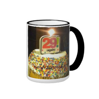 29 again birthday mug