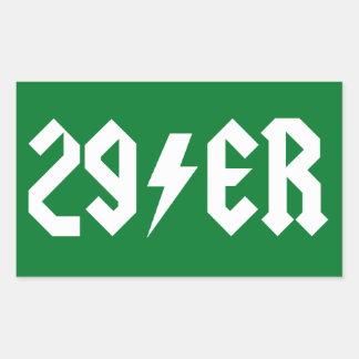 29er rectangular sticker