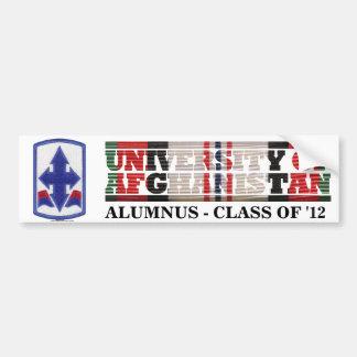 29th Infantry BCT U of Afghanistan Sticker Car Bumper Sticker