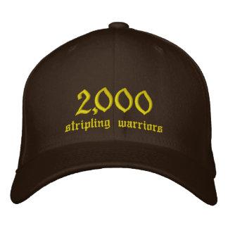 2,000, stripling warriors embroidered baseball caps