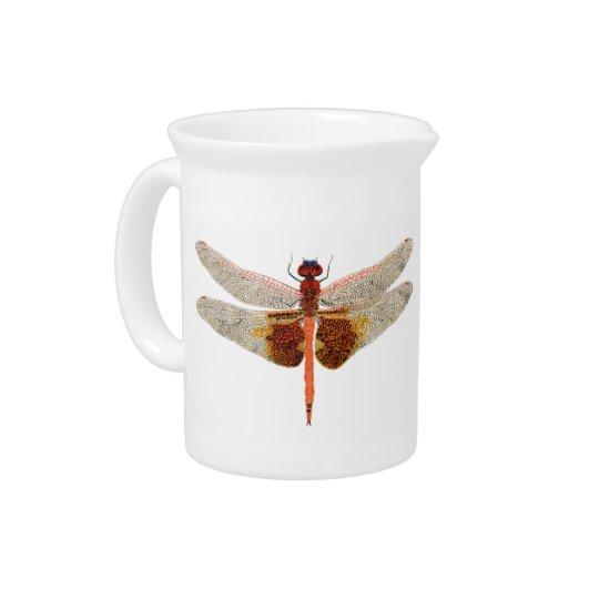 2 Dragonflies Pitcher