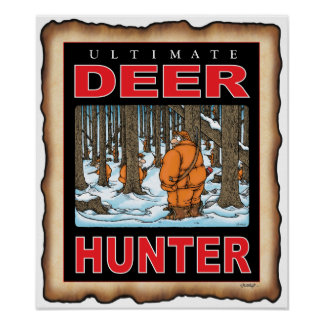 2 MANY ULTIMATE DEER HUNTER small poster
