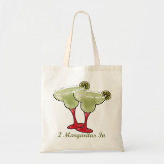 2 Margaritas In Tote Bag