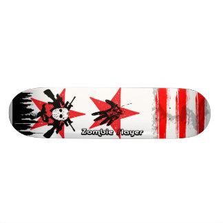 2 Red Star Zombie Ski Mask Slayer Skateboard Decks