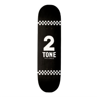 2 Tone Records Checkered design 18.1 Cm Old School Skateboard Deck