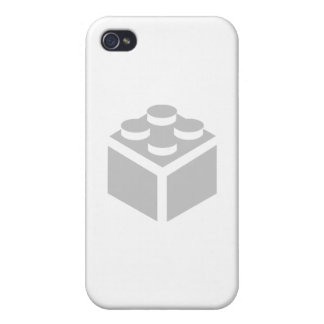 2 x 2 Brick by Customise My Minifig Cases For iPhone 4