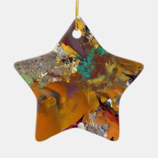 2b ceramic star decoration