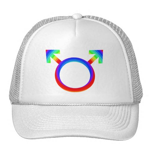 2become1 Gay Pride Mesh Hats