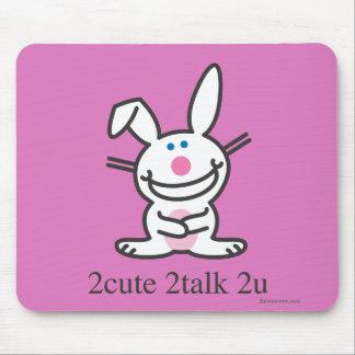 2cute 2talk 2u mouse pad