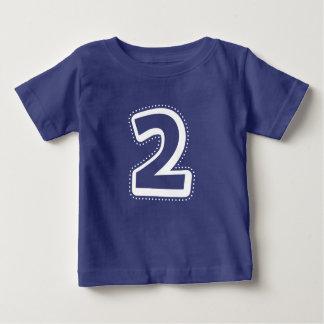 2nd Birthday Number Shirt