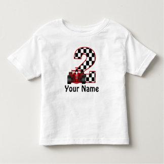 2nd Birthday Race Car Personalised Shirt