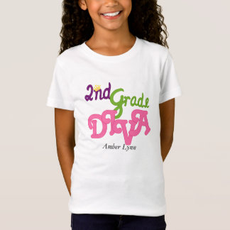 2nd Grade Diva T-Shirt