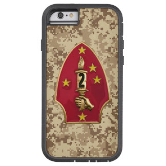 "2nd Marine Division ""The Silent Second"" Camo Tough Xtreme iPhone 6 Case"