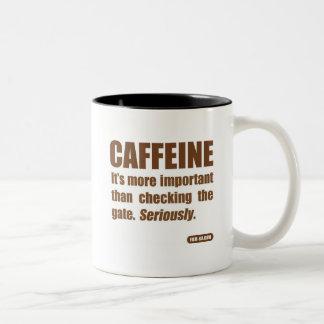 "2nd Meal Mug ""Caffeine"""