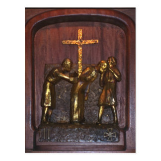 2nd Station of the Cross Postcard