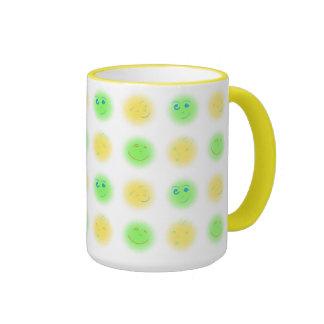 2x2 Little Faces YxG Ringer Coffee Mug