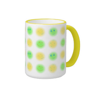 2x2 Little Faces YxG Ringer Mug