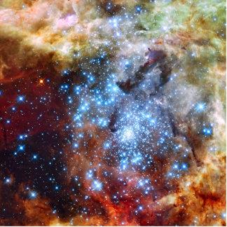 30 Doradus Nebula Star Clusters Standing Photo Sculpture