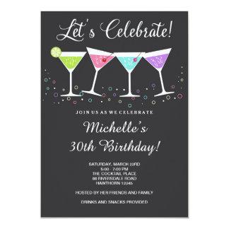 30th Birthday Invitation / Adult Birthday Invite