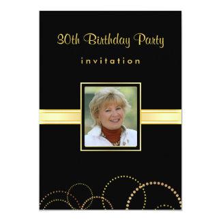 30th Birthday Party Invitation - Photo Optional
