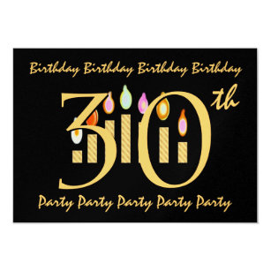 32nd birthday party invitations announcements zazzle 30th birthday party invitation template stopboris Image collections