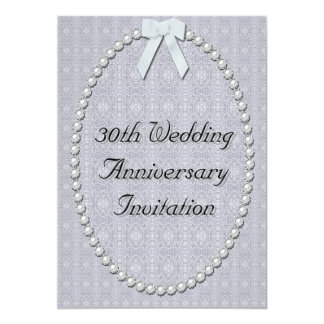 30th Wedding Anniversary Gifts For Parents Nz : 30th Wedding Anniversary Invitations & Announcements Zazzle.co.nz