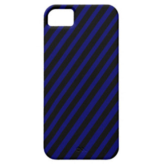 311 Black & Blue Diagonal Stripes Barely There iPhone 5 Case