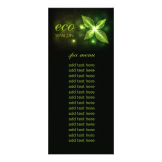 311 Eco Green Leaf Custom Rack Cards