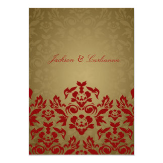 311-Golden Flame 5 x 7 Invite