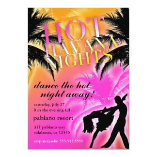 311 Hot Havana Nights Black Invite
