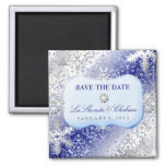 311 Ice Princess Winter Save the Date Refrigerator Magnet