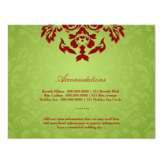 311-Lime Flame Accommodation Card