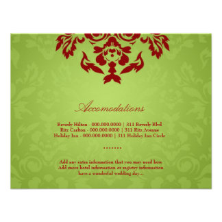 311-Lime Flame Accommodation Card Invites