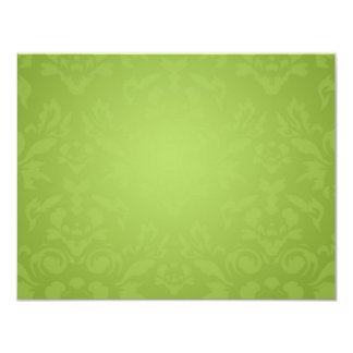 311-Lime Flame RSVP 4.25x5.5 Paper Invitation Card