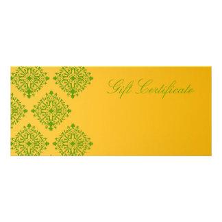 311 Olesha Gift Certificate Rack Card