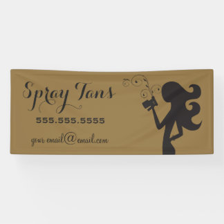 311 Spray Tan Banner Gold