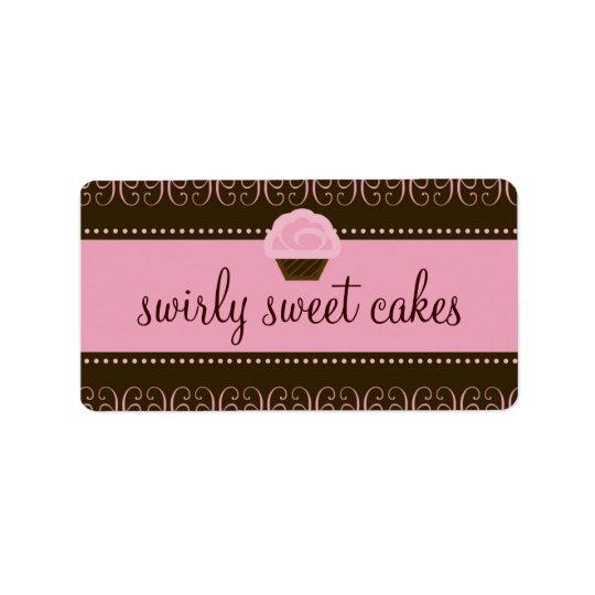 311 Swirly Sweet Label