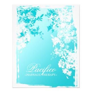 311-Tranquil Blue Garden Fade 11.5 Cm X 14 Cm Flyer