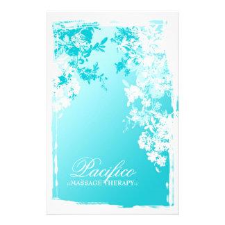 311-Tranquil Blue Garden Fade 14 Cm X 21.5 Cm Flyer