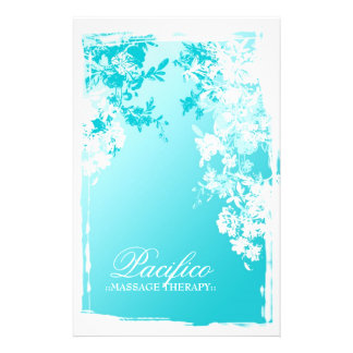 311-Tranquil Blue Garden Fade Personalized Flyer