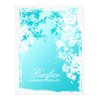 311-Tranquil Blue Garden Fade Custom Flyer