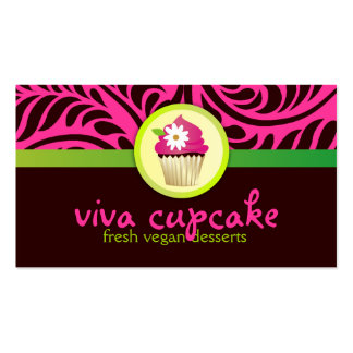 311 Viva Cupcake Business Card Template