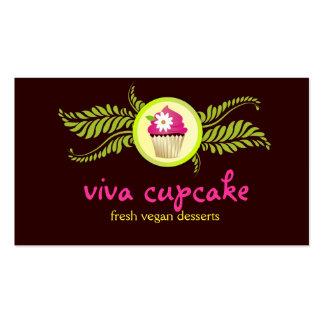 311 Viva Cupcake Chocolate Brown Business Cards