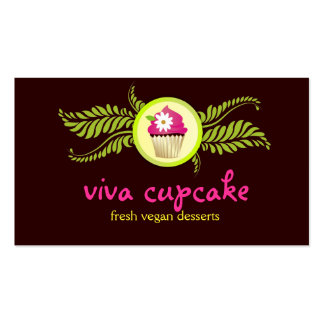 311 Viva Cupcake Chocolate Brown Pack Of Standard Business Cards