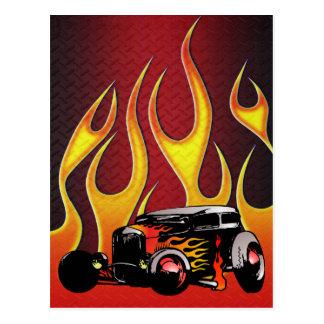 330 Hot Rod Color Variante 2 Postcard