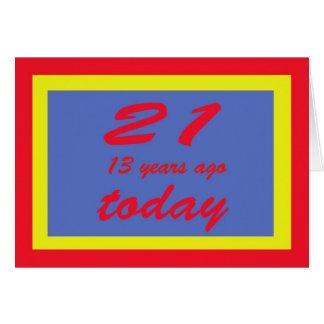 34 birthday card