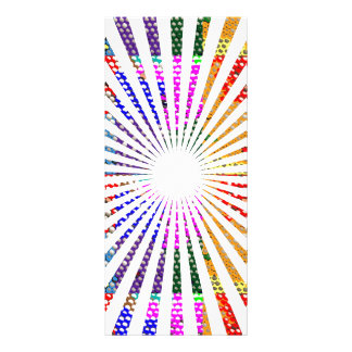 34 Graphic Chakra style Prints Personalized Rack Card