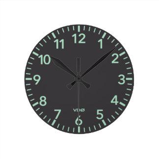 356 Style Dash Clock